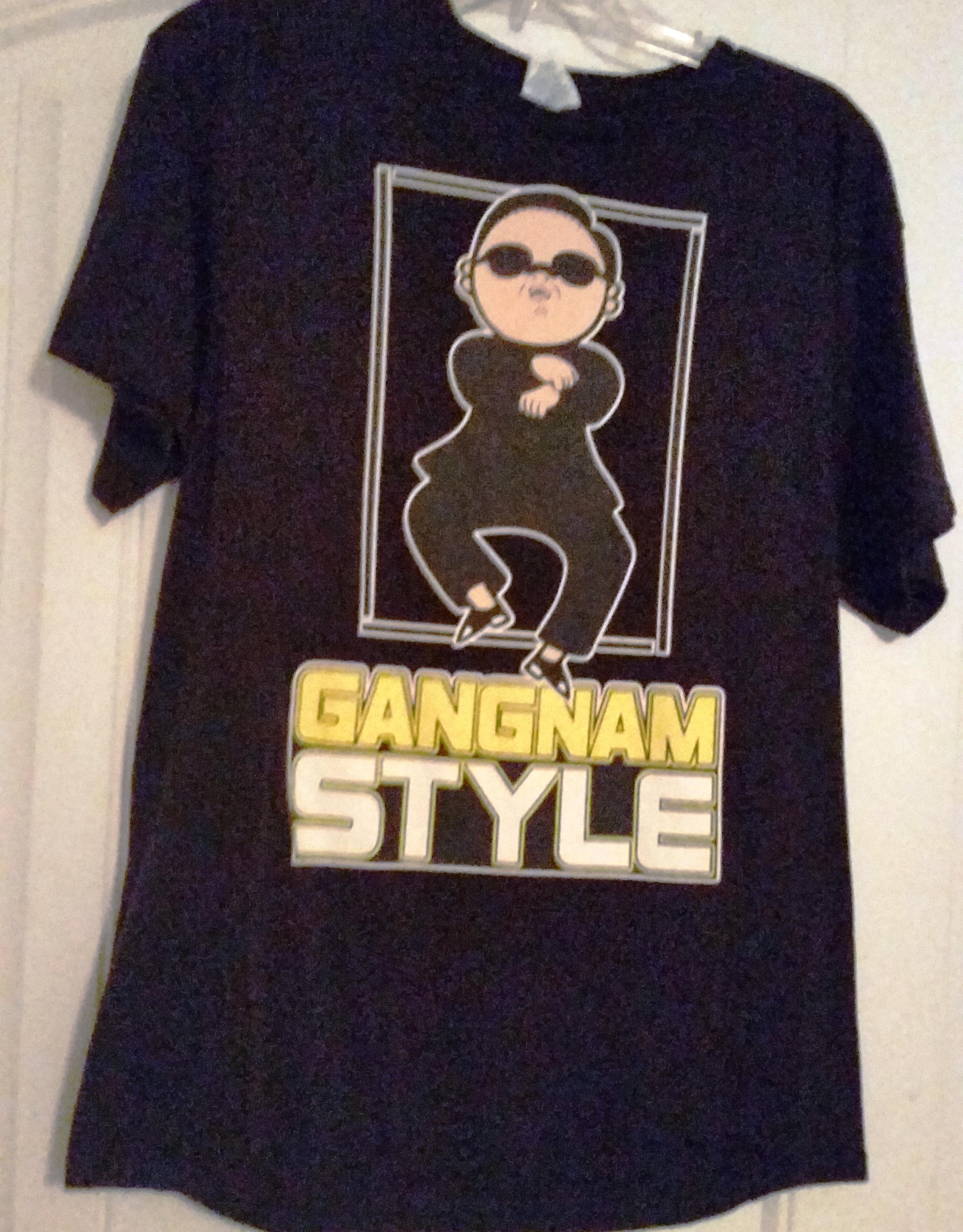 lucky shirt gangnam